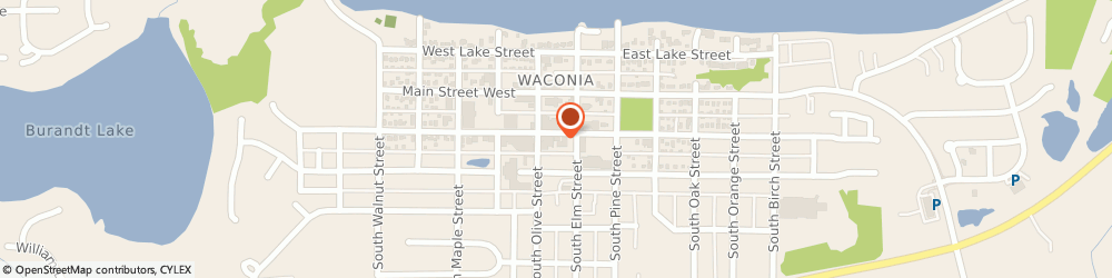 Route/map/directions to Farmers Insurance - Anthony Bell, 55387 Waconia, 17 W 1st St