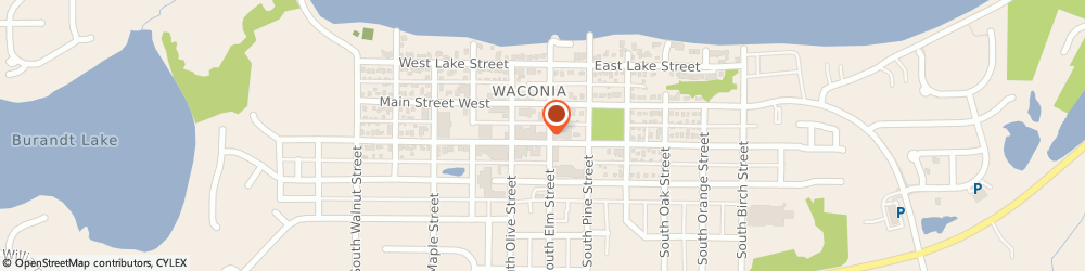 Route/map/directions to Safeco Insurance Agent, 55387-1412 Waconia, 40 S Elm St