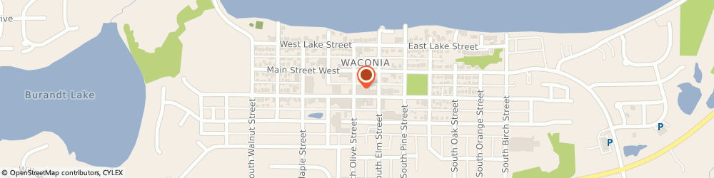 Route/map/directions to State Farm Insurance, 55387 Waconia, 44 W 1ST ST