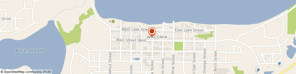 Route/map/directions to Safeco Insurance Agent, 55387-6000 Waconia, 124 W Main St
