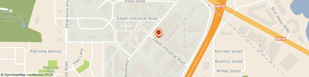 Route/map/directions to Leaseway Personnel Corporation, 55121 Eagan, 1189  INDUSTRIAL ROAD
