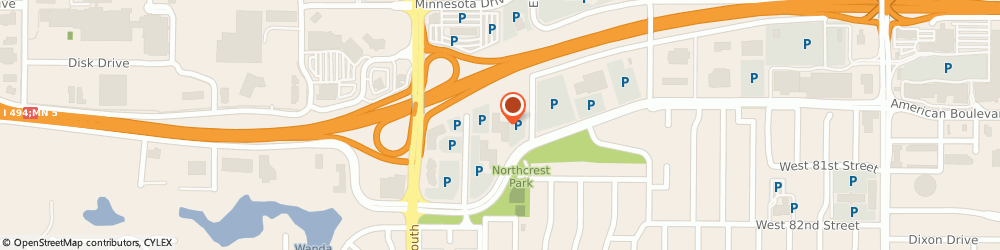 Route/map/directions to Execu-Tech Search Inc, 55431 Minneapolis, 3500 AMERICAN BLVD W STE 20