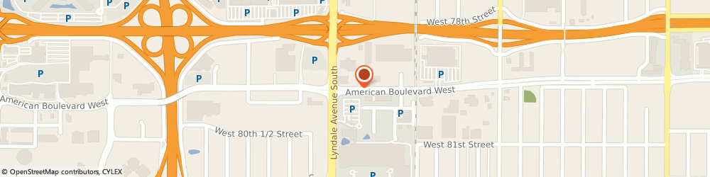 Route/map/directions to Applebees Neighborhood Grill & Bar - Chanhassen, 55420 Minneapolis, 590 AMERICAN BOULEVARD WEST