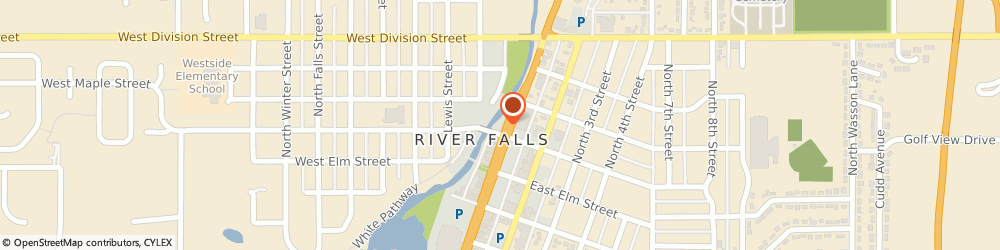 Route/map/directions to Subway, 54022 River Falls, 201 N. Main St.