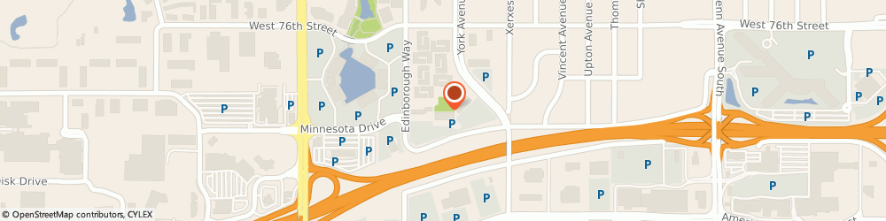 Route/map/directions to Insurance Overload Systems, 55435 Minneapolis, 3300 EDINBOROUGH WAY SUITE 205