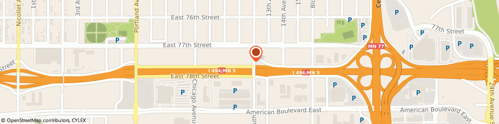 Route/map/directions to Citibank ATM, 55423 Richfield, 7744 12Th Ave S