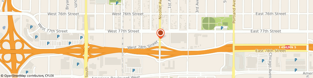 Route/map/directions to Wells Fargo RICHFIELD, 55423 Richfield, 7720 Nicollet Ave S