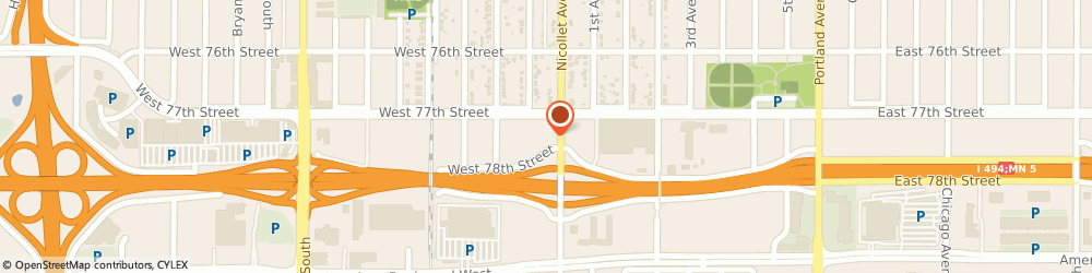 Route/map/directions to Wells Fargo ATM, 55423 Richfield, 7720 Nicollet Ave S