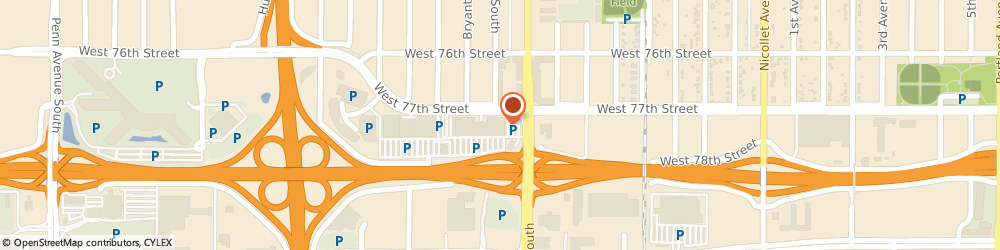 Route/map/directions to Papa John's Pizza, 55423-3914 Richfield, 740 W. 78th Street