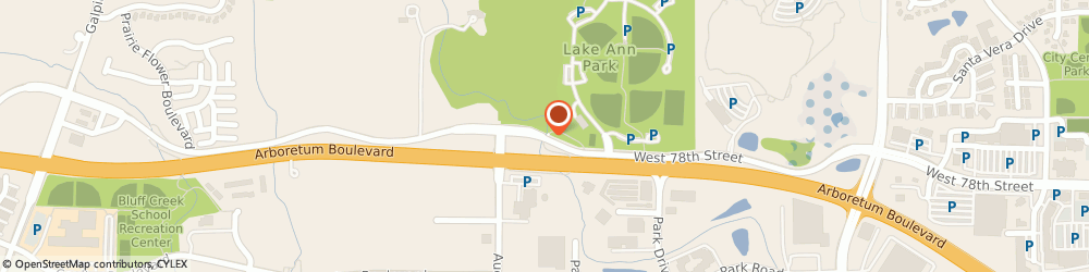 Route/map/directions to Athletic Values, 55317 Chanhassen, West 78th Street