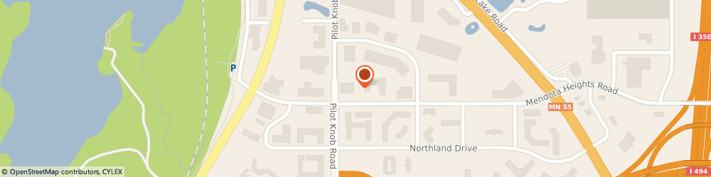 Route/map/directions to Ppi Technologies, 55120 Saint Paul, 1385 Mendota Heights Rd, Ste 100