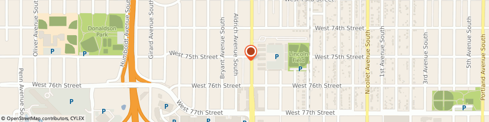 Route/map/directions to Wells Fargo ATM, 55423 Richfield, 7500 Lyndale Ave S