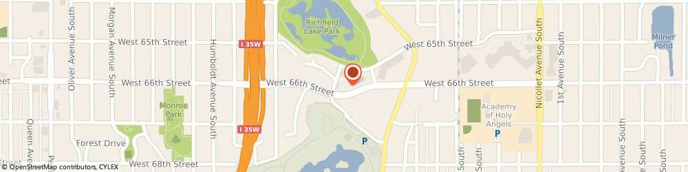 Route/map/directions to Wells Fargo RICHFIELD, 55423 Richfield, 826 W 66Th St