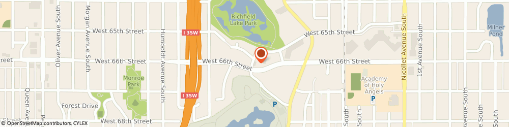 Route/map/directions to Wells Fargo ATM, 55423 Richfield, 826 W 66th St