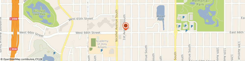 Route/map/directions to Dairy Queen (Treat), 55423-2454 Richfield, 16 E 66th St
