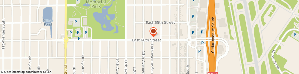 Route/map/directions to Crest Auto, 55423 Minneapolis, 1316 E 66Th St