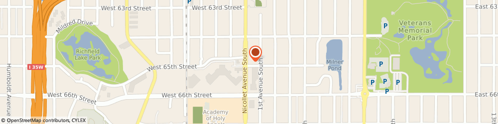 Route/map/directions to Wells Fargo Bank, 55423 Richfield, 6445 Nicollet Ave