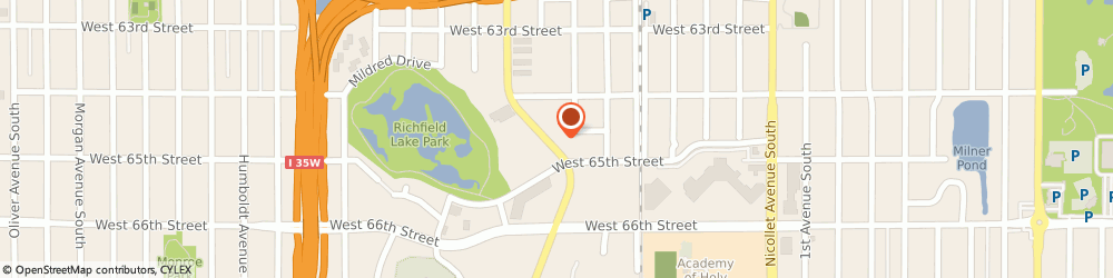 Route/map/directions to Minuteman Press, 55423 Richfield, 6443 Lyndale Ave S