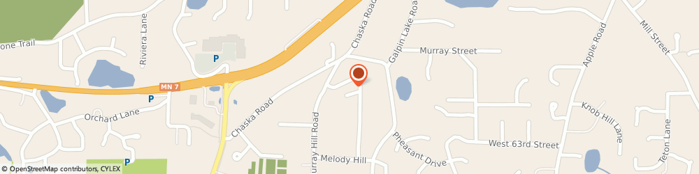 Route/map/directions to Chiropractic Natural Health Center, 55331 Excelsior, 23115 SUMMIT AVENUE