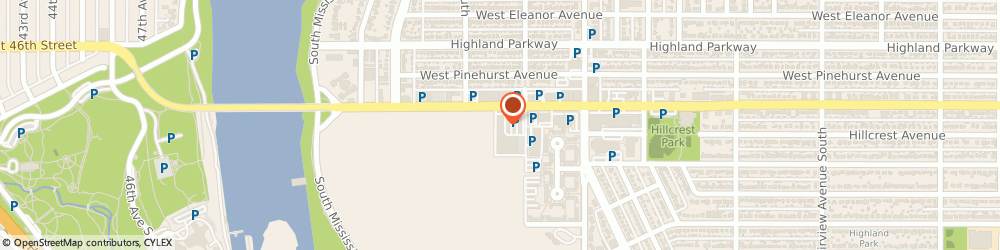 Route/map/directions to PostNet, 55116 Saint Paul, 2136 Ford Pkwy