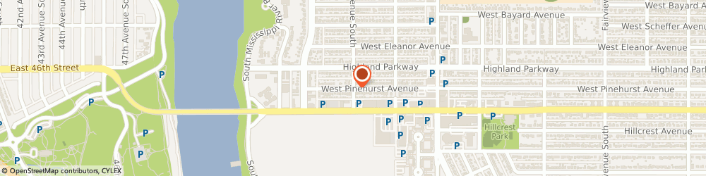 Route/map/directions to Waxing The City, 55116 Saint Paul, 2046 West Pinehurst Avenue