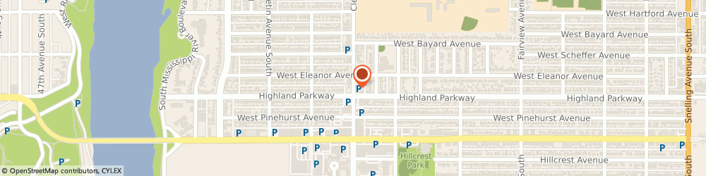 Route/map/directions to US BANK, 55116 Saint Paul, 711 CLEVELAND AVENUE SOUTH