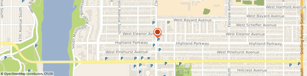 Route/map/directions to U S BANK, 55075 South Saint Paul, 711 CLEVELAND AVENUE