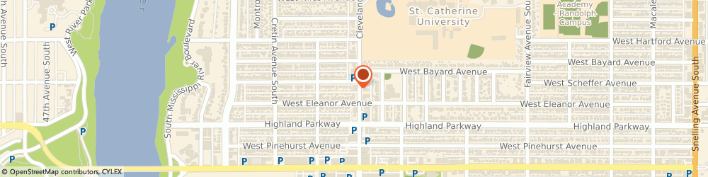 Route/map/directions to Talbots, 55116 Saint Paul, 665 South Cleveland Avenue