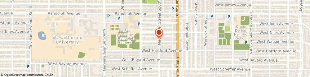 Route/map/directions to Tom Baumgartner Agency, 55116 Saint Paul, 1651 WATSON AVE
