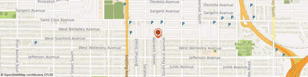 Route/map/directions to Top 20 Training, 55105 Saint Paul, 1873 Stanford Ave