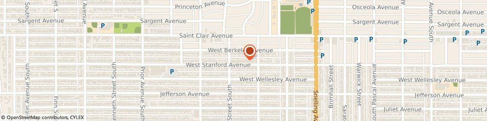 Route/map/directions to Simmer Entertainment, 55101 Saint Paul, 1731 STANFORD AVE