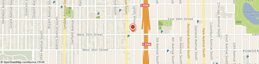 Route/map/directions to Wells Fargo ATM, 55408 Minneapolis, 3453 Nicollet Ave S