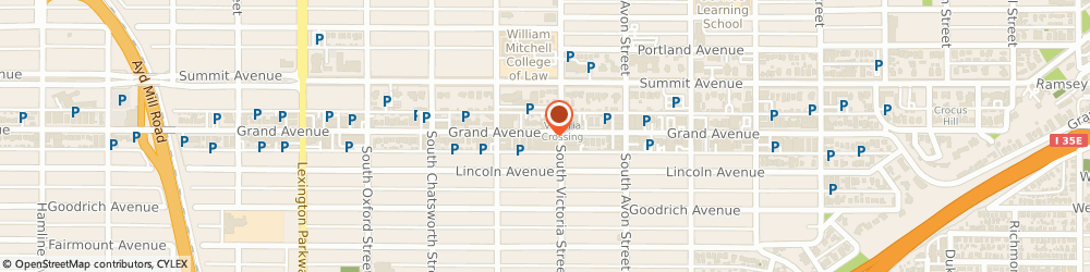Route/map/directions to lululemon, 55105 St Paul, 870 Grand Avenue