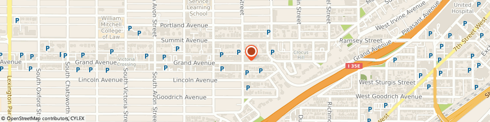 Route/map/directions to Edward Jones - Financial Advisor: Brian D Muller, AAMS®, 55102 St Paul, 615 Grand Avenue