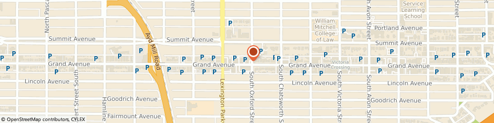 Route/map/directions to Edward Jones - Financial Advisor: Jack Reed, CFP®, 55105 St Paul, 1055 Grand Ave