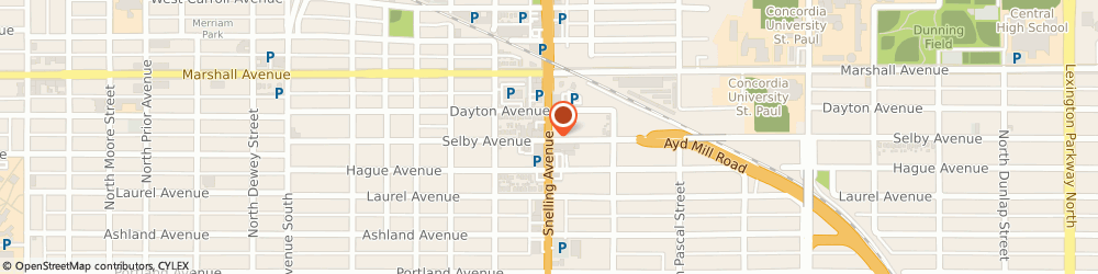 Route/map/directions to CITIBANK ATM, 55164 Saint Paul, 176 Snelling Ave N.