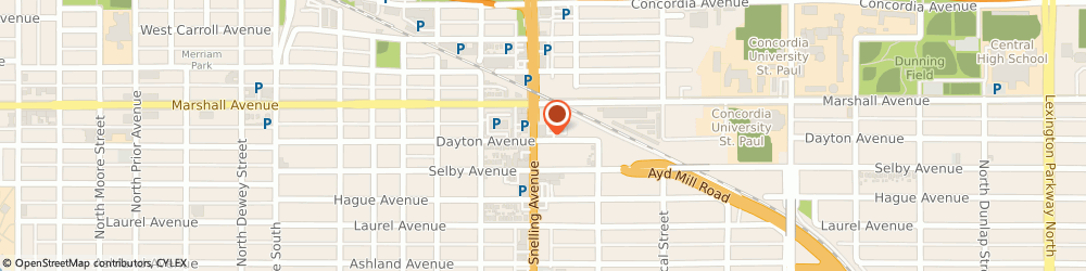 Route/map/directions to Citibank ATM, 55104 Saint Paul, 202 Snelling Ave N