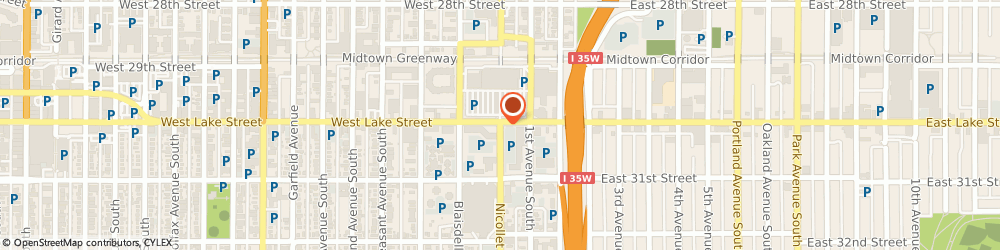 Route/map/directions to Little Caesars Pizza, 55408 Minneapolis, 3015 Nicollet Avenue South