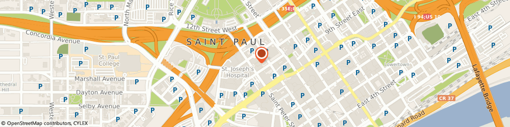 Route/map/directions to Tani Eye Associates, 55102 Saint Paul, 17 Exchange St W