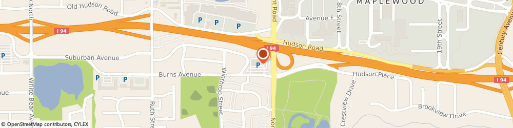 Route/map/directions to DoubleTree by Hilton St. Paul East, 55119 St. Paul, 2201 Burns Ave.