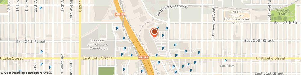 Route/map/directions to Radio Shack Minneapolis, 55406 Minneapolis, 2868 26Th Avenue South