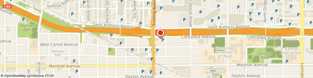 Route/map/directions to Navy Federal Credit Union, 55104 Saint Paul, 1570 Concordia