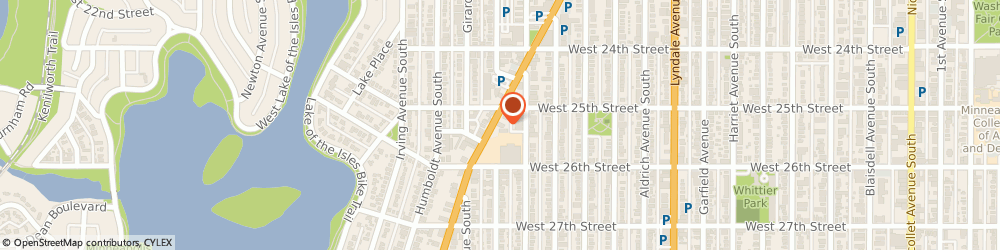 Route/map/directions to Wells Fargo ATM, 55405 Minneapolis, 2501 Hennepin Ave S