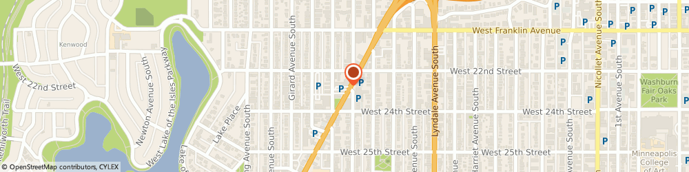 Route/map/directions to Starbucks Coffee, 55405 Minneapolis, 2216 Hennepin Avenue