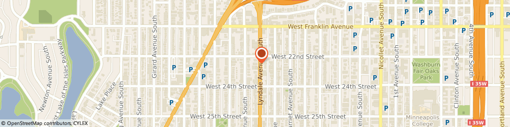 Route/map/directions to Wells Fargo ATM, 55405 Minneapolis, 2200 Lyndale Ave S