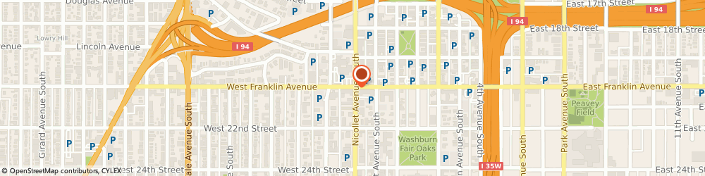 Route/map/directions to Starbucks Coffee Nicollet & Franklin, 55404 Minneapolis, 2000 Nicollet Ave.