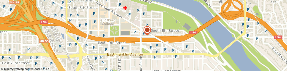 Route/map/directions to Starbucks Coffee - Minneapolis, 25th & Riverside, 55454 Minneapolis, 815 25Th Ave