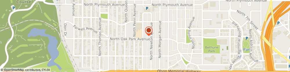 Route/map/directions to Pastor Pauls Mission, 55411 Minneapolis, 1000 OLIVER AVENUE NORTH