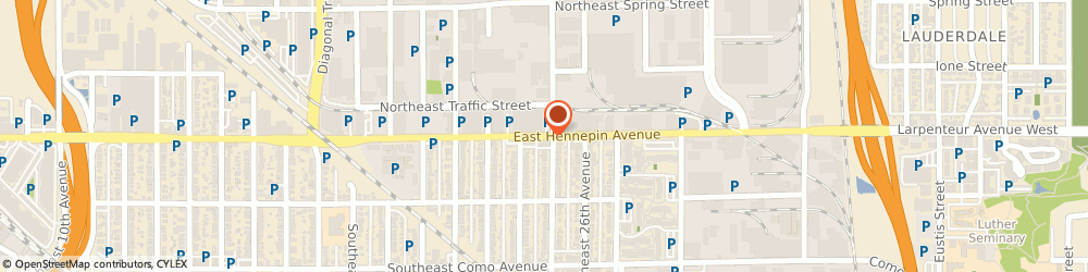 Route/map/directions to Napa Auto Parts - East Hennepin, 55413 Minneapolis, 2416 EAST HENNEPIN AVENUE