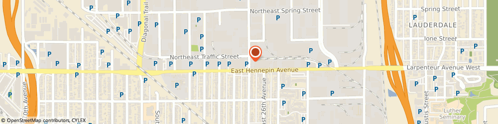 Route/map/directions to Cedar Towing & Garage Service, 55413 Minneapolis, 359 HOOVER STREET NORTHEAST